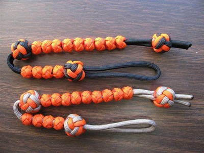 Paracordists MiBSAR ranger beads - how to the tie fixed knot
