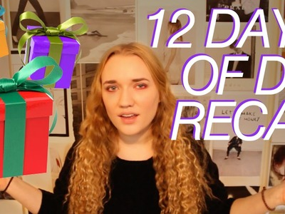 12 DAYS OF DIY | Recap