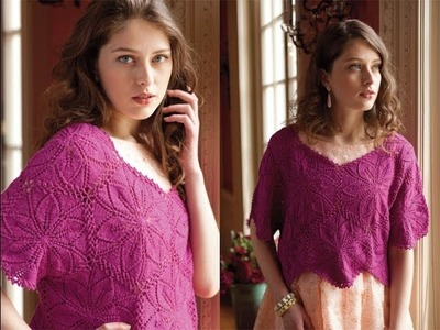 #12 Modular Top, Vogue Knitting Early Fall 2013