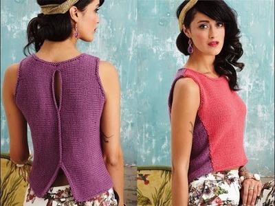 #21 Sculptural Shell, Vogue Knitting Spring.Summer 2014