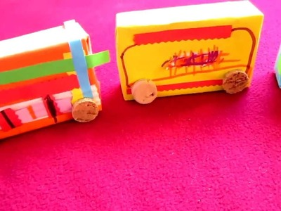 Arts-Crafts_Cardboard box and paper train