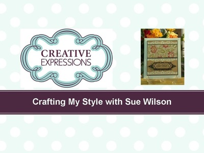 Craft Dies by Sue Wilson -- Tutorial Video -  White on Kraft for Creative Expressions