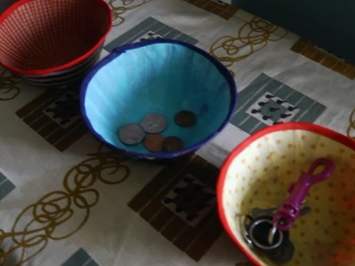Crafting Fabric Bowls | At Home With P. Allen Smith