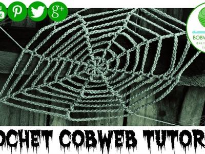 Crochet Cobweb Tutorial