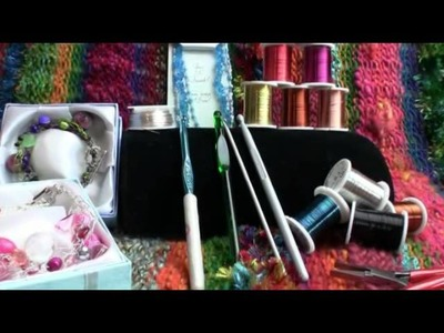 Crochet With Jewelry Wire Tips and Tricks