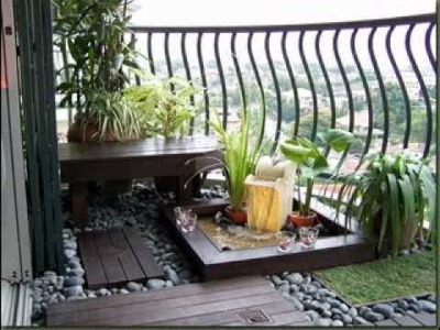 DIY Balcony garden decorations ideas