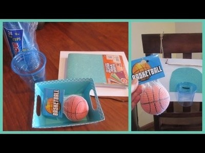 DIY Basketball Game & Craft! YTMM Collaboration!