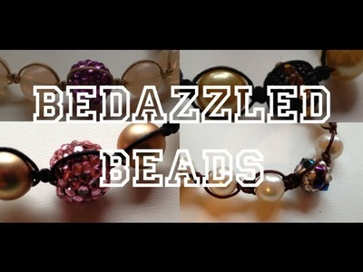 DIY: Bedazzling Beads ♡ Theeasydiy #Crafty