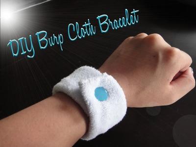 DIY Burp Cloth Bracelet