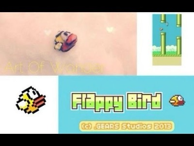 DIY Flappy Bird Charm | Polymer Clay Tutorial