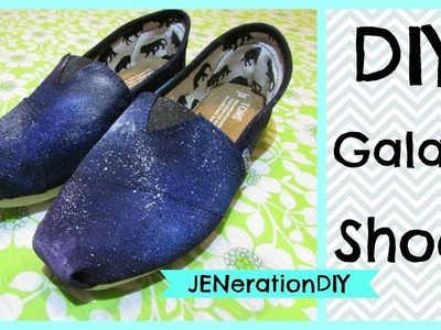 DIY: Galaxy Shoes (JENerationDIY first video)