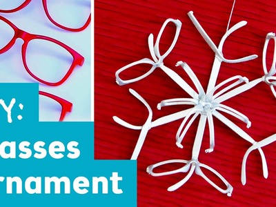DIY Glasses Snowflake : Ornament Exchange