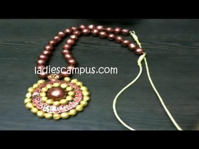 DIY | Learn Terracotta jewellery Garland making - Part 2 (c)