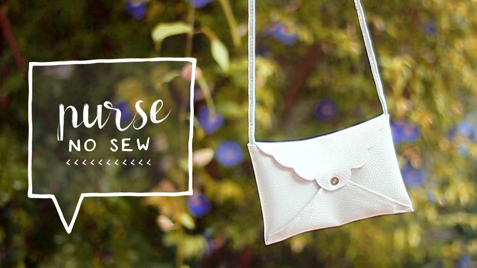 DIY Mini Cross Body Bag | No Sewing (How to Make a DIY Clutch Purse)