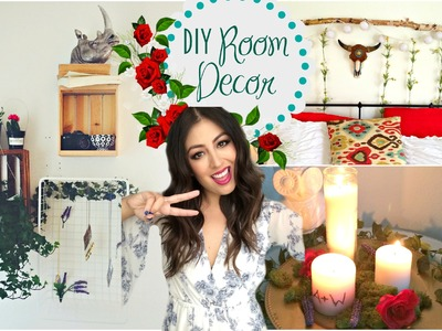 DIY Room Decorations 2015: Tumblr Greenery & Plants