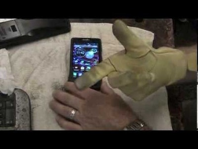 DIY Touchscreen Leather Gloves!