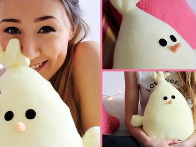 Easter.Spring DIY: No Sew Baby Chick Pillow | LaurDIY