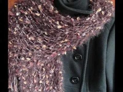 Hand knit scarves-nevita.etsy.com