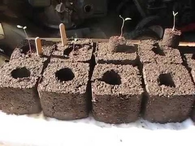 Homemade Soil Blocker Maker (free - DIY)