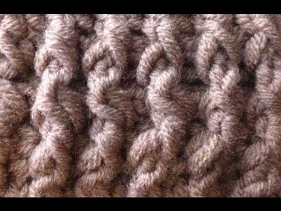 How to Crochet the Single Rib Stitch by ThePatterfamily
