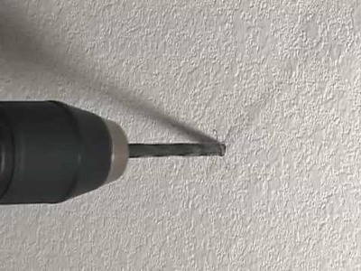 How to Drill into Your Wall