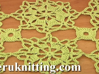 How to Join Octagon Motifs Tutorial 6 Part 2 of 2