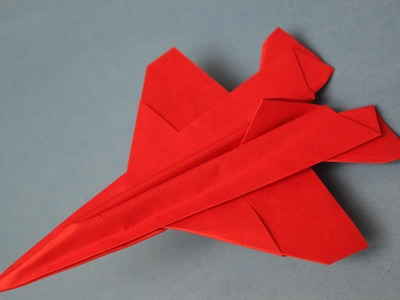 How to make a cool paper plane origami: instruction| Falcon