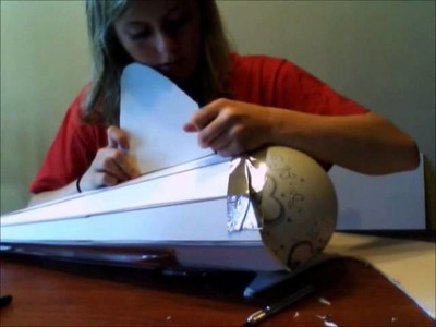 How to make a paper mache shark