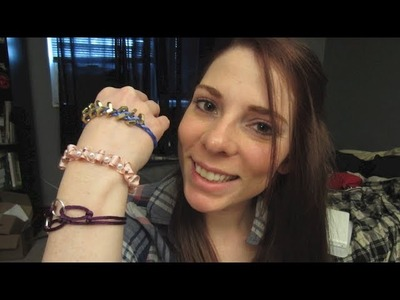 How To Make Bracelets! DIY Fun, Easy, Stylish, Wrap Bracelets!
