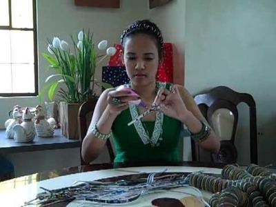 How To Make Saucer Shape Beads