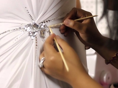 How to Stone a Pageant Dress : Pageant Dresses & Sewing