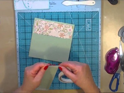 Inside Cover Pocket Pages for your 6x6 Scrapbook Album