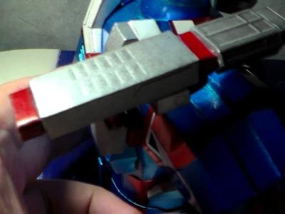 Iron Patriot Papercraft - Movable Gatling Gun
