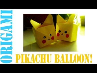Origami Daily - 265: Pikachu (Balloon) - TCGames [HD]