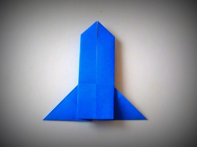 Origami - How to make a Rocket