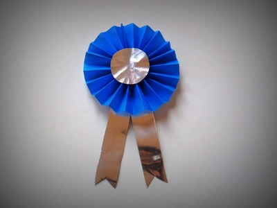 Origami - How to make an Award Medal