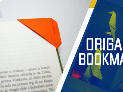 Origami - How To Make An Easy Origami Bookmark