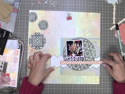 Scrapbooking Process: Forty