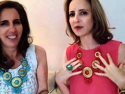 Shopafrolic for OpenSky: Glass Bead Medallion Necklace