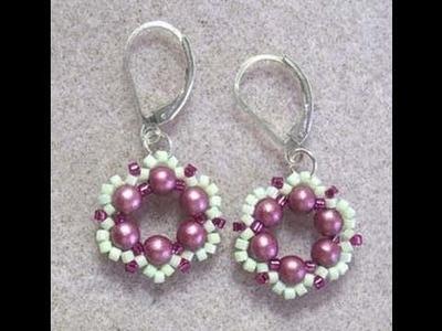 Spring Flower Earrings Howto