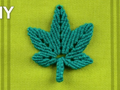 Stylized HEMP LEAF (DIY)
