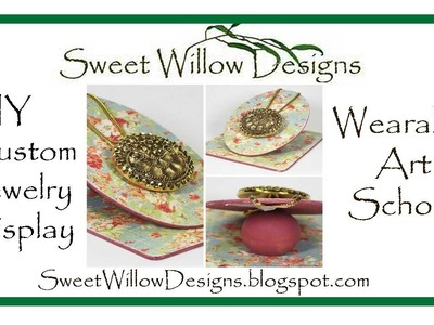 SWD DIY Custom Jewelry Necklace & Earring Stand