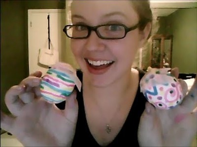 Tutorial Tuesday:  Quick and simple DIY confetti Easter eggs!