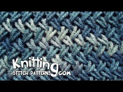 Wicker stitch aka Criss-Cross Stitch