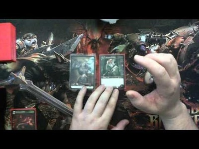 "World of Warcraft TCG Tutorial How to play ""Basic"""