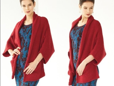 #16 Kimono Cardigan, Vogue Knitting Fall 2013