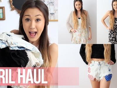 April Haul: F21, UO, Necessary Clothing | LaurDIY