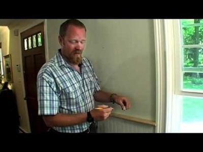 BUILDING SKILLS: How to Scribe Trim to Fit Against a Wall