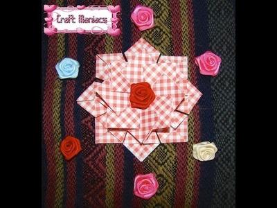 Craft Maniacs 2: Tea Bag Folding 2 - Medallion with Squares