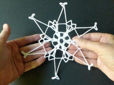 CROCHET ALONG - Snowflake No 5